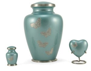 Andover Series Teal Butterfly Family