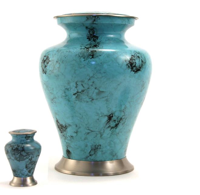 Radian Water Swirl Family Urn
