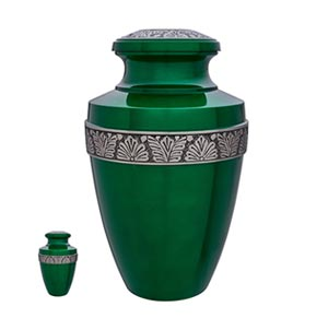 Atria Royal Green Urns